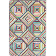 Kaledo Bright Cotton Micro Hooked Rug