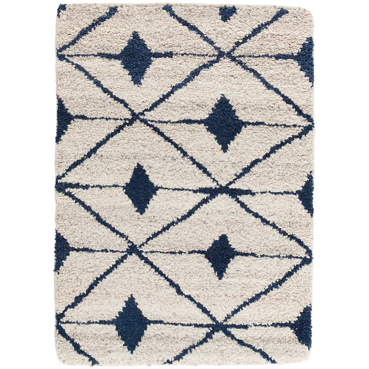 Kenitra Indigo Hand Knotted Wool Rug Dash Amp Albert