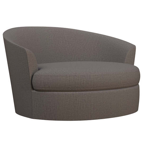 Canvasuede Charcoal Kenly Chair