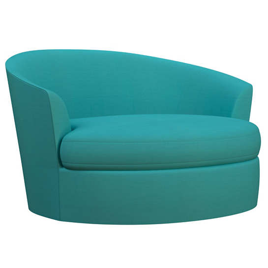 Estate Linen Turquoise Kenly Chair