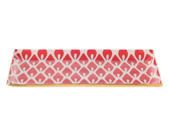 Kissed Chatterly Flame Cocktail Tray