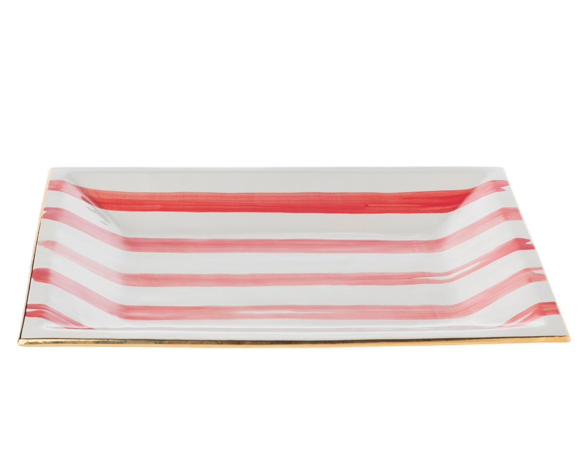 Kissed Speedy Stripe Caviar Tray