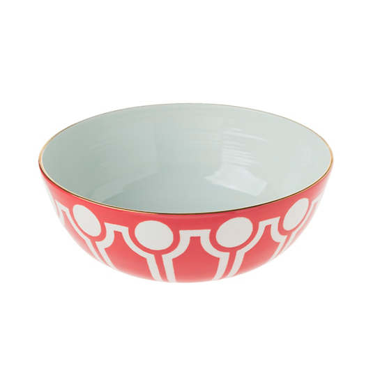 Kissed Versailles Low Large Round Bowl