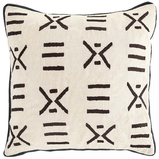 Kitale Embroidered Decorative Pillow