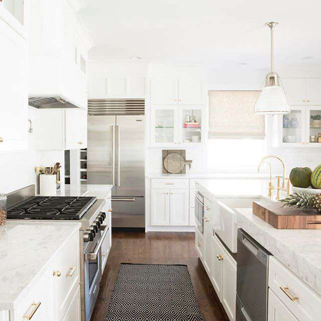 How To Choose The Perfect Kitchen Rug Annie Selke