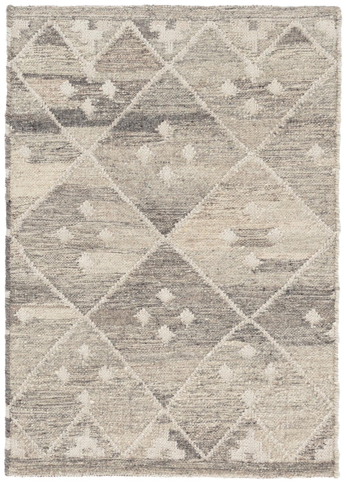 Kota Natural Woven Wool Rug