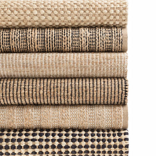 Kuba Natural Woven Jute Rug | Dash & Albert