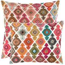 Kulu Embroidered Decorative Pillow