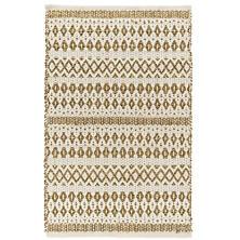 La Palma Natural Woven Jute/Cotton Rug