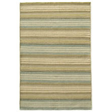 Lake Stripe Woven Wool Rug
