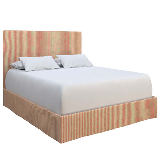 Adams Ticking Brick Langston Bed
