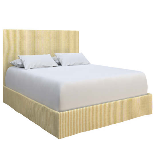 Adams Ticking Gold Langston Bed