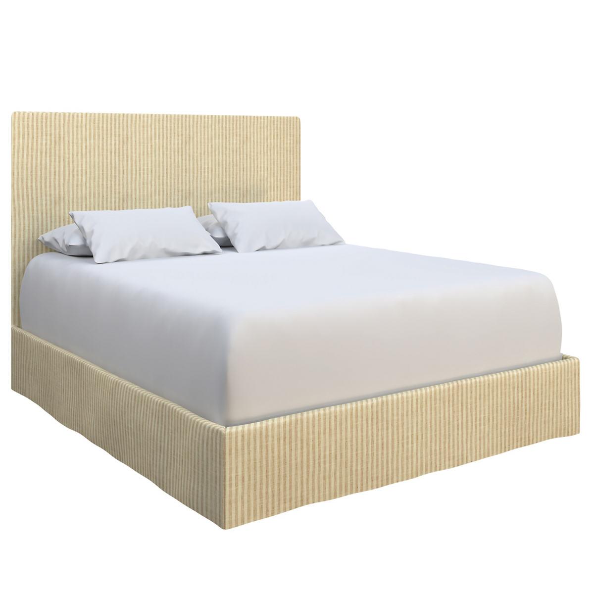 Adams Ticking Natural Langston Bed