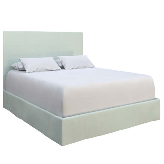 Estate Linen Powder Blue Langston Bed