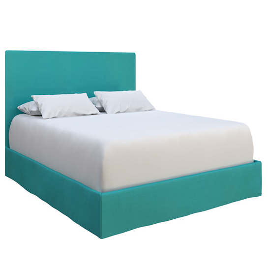 Estate Linen Turquoise Langston Bed