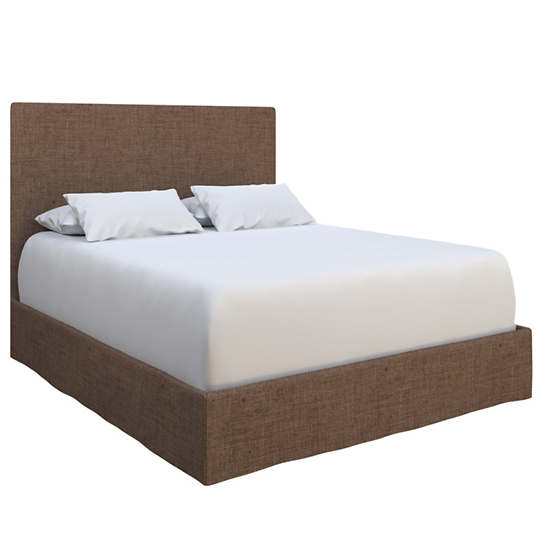 Greylock Brown Langston Bed