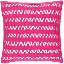 Lanyard Fuchsia Indoor/Outdoor Decorative Pillow