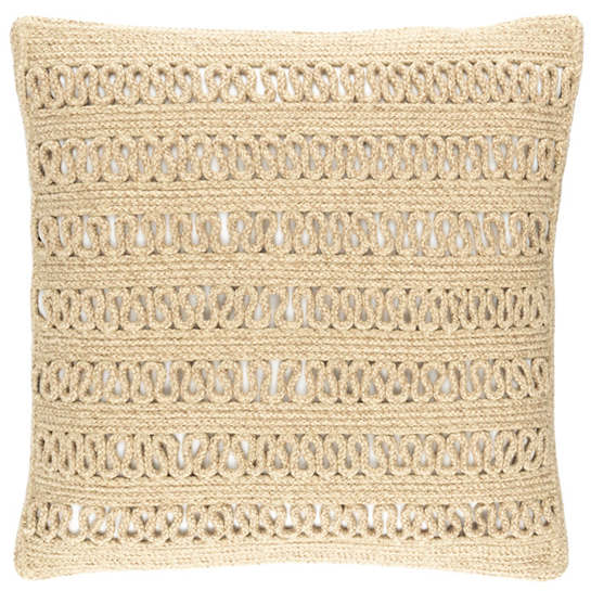 Lanyard Natural Indoor/Outdoor Decorative Pillow