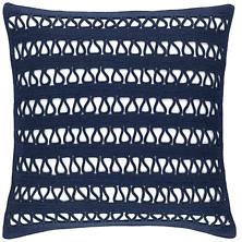 Lanyard Navy Indoor/Outdoor Decorative Pillow