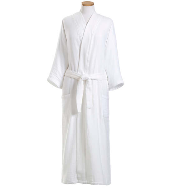 Larissa White Robe