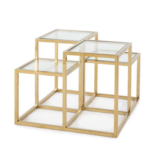 Lark Gold Side Table