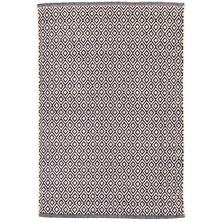 Lattice Woven Cotton Rug