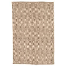 Lattice Stone Woven Cotton Rug