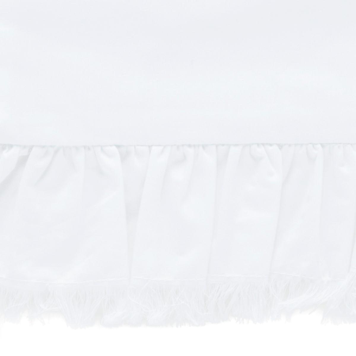 Laundered Ruffle White Swatch