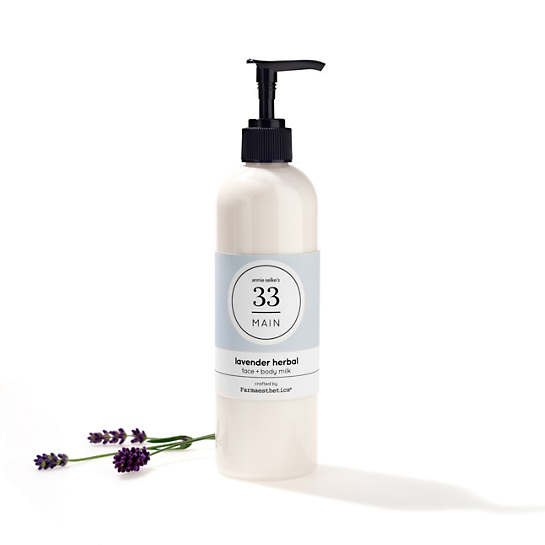 Lavender Herbal Face & Body Milk