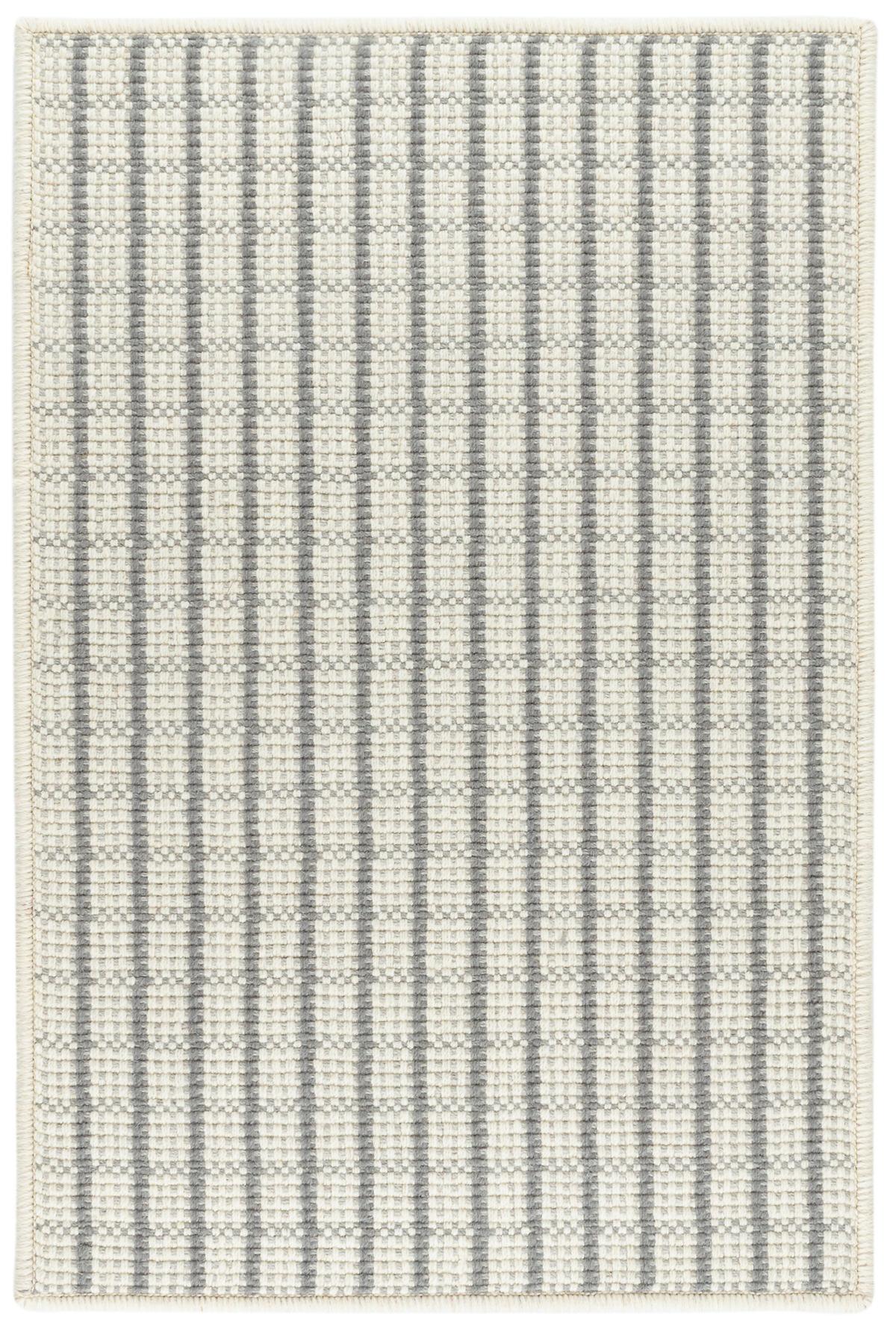 Lawrence Grey Woven Wool Rug