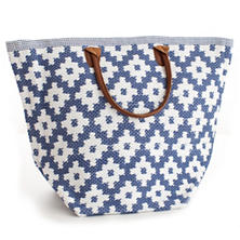 Le Tote Denim/White Tote Bag Grand