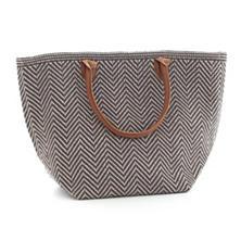 Le Tote Graphite/Platinum Tote Bag Moyen
