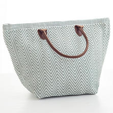 Le Tote Light Blue/White Tote Bag Moyen