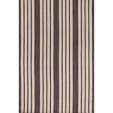 Lenox Charcoal Wool Woven Rug