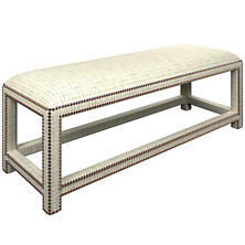 Nicholson Grey Lexington Bench
