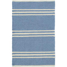 Lexington French Blue/Ivory Indoor/Outdoor Rug