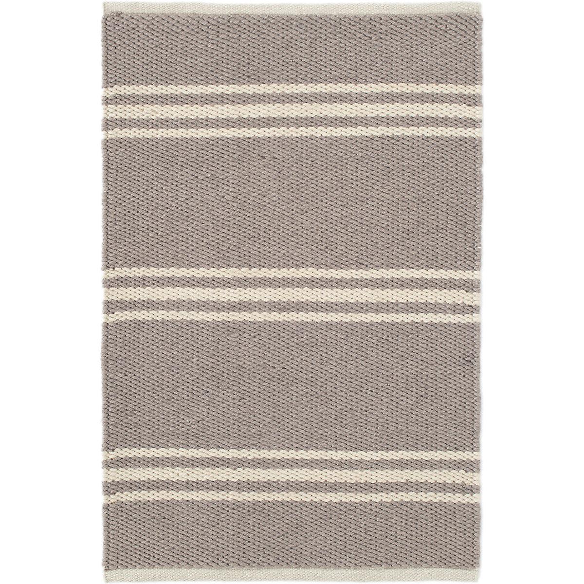 Lexington Grey/Ivory Indoor/Outdoor Rug | Dash & Albert