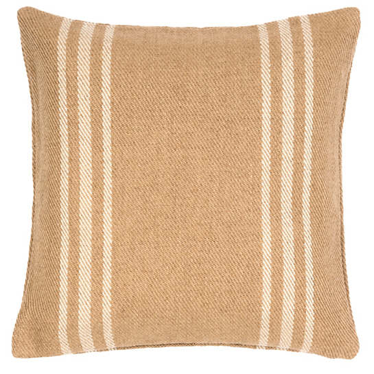 Lexington Ivory/Camel Indoor/Outdoor Pillow