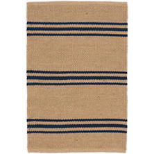 Lexington Navy/Camel Indoor/Outdoor Rug