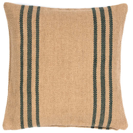 Cape Stripe Pine/Camel Indoor/Outdoor Pillow