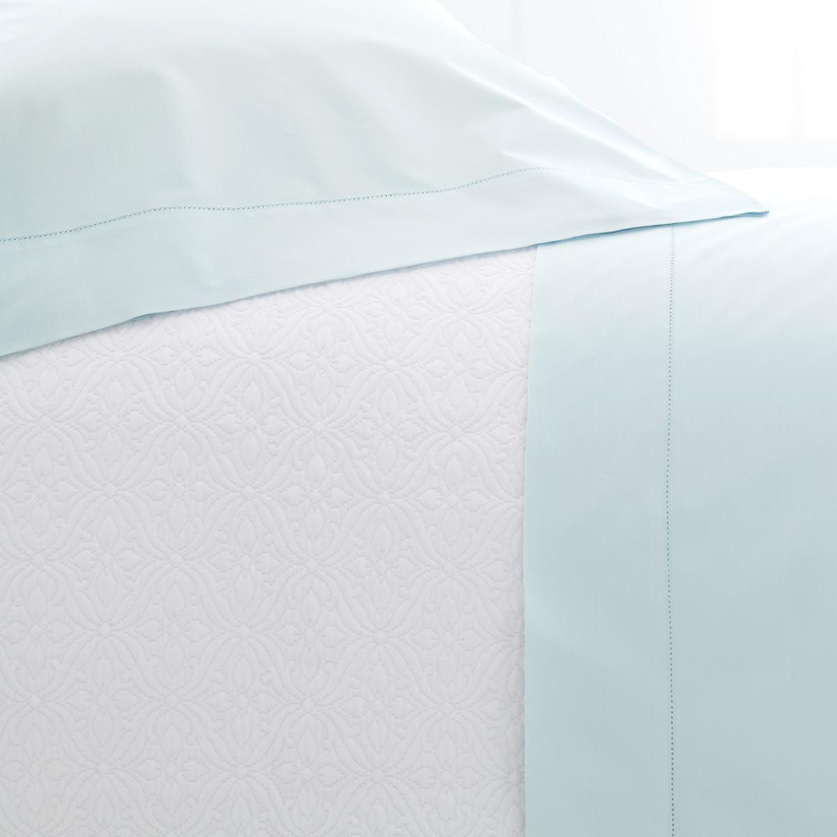 Lia Pearl Blue Pillowcases