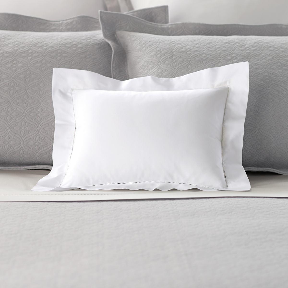 Lia White Decorative Pillow