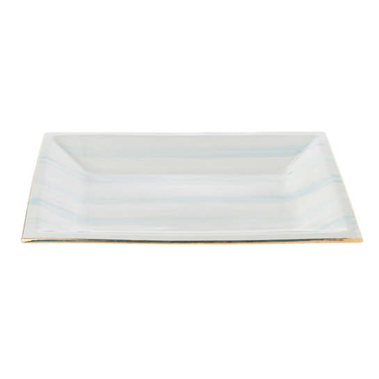 Light Papago Speedy Stripe Caviar Tray
