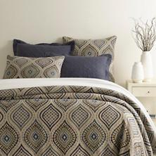 Lima Linen Blue Duvet Cover