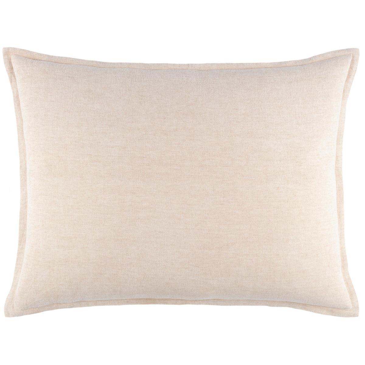Linen Chenille Natural Decorative Pillow