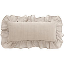 Linen Mesh Natural Decorative Pillow