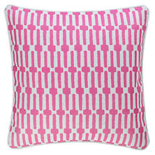 Links Fuchsia Indoor/Outdoor Decorative Pillow