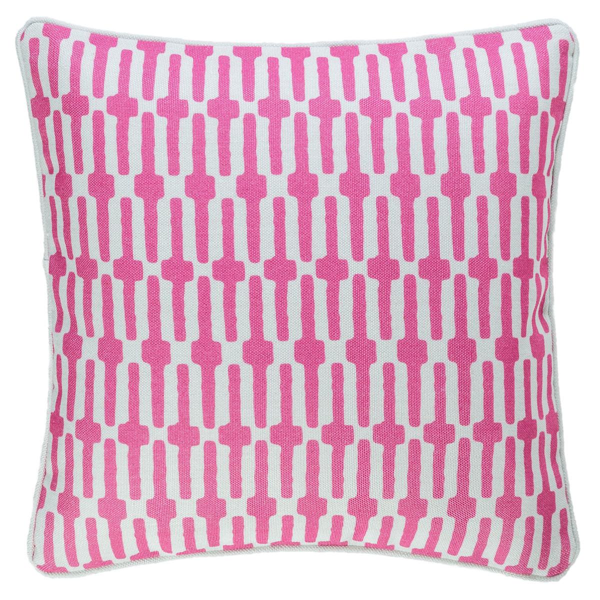 Links Fuchsia Indoor/Outdoor Decorative Pillow