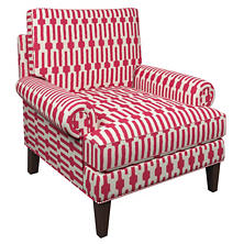 Links Fuchsia Easton Chair