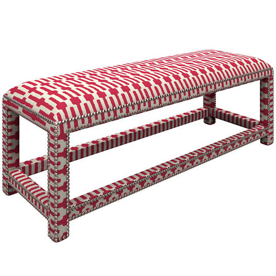 Links Fuchsia Lexington Bench